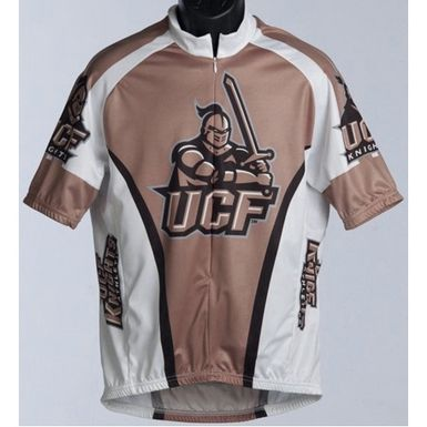 central florida golden knights cycling bike jersey