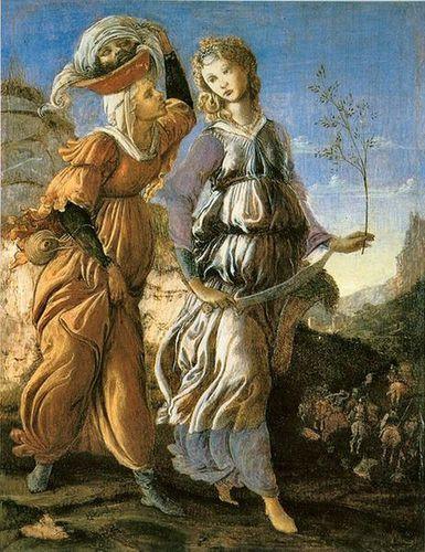 462px-Sandro Botticelli - Retour de Judith 2
