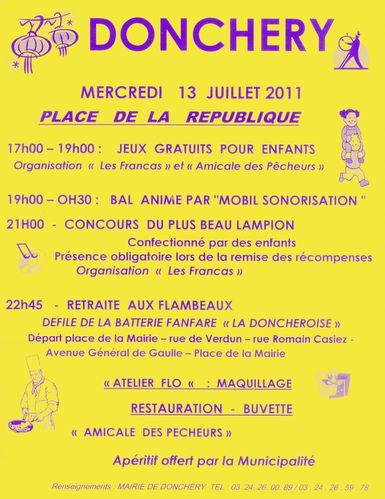 13 Juillet Donchery 2011