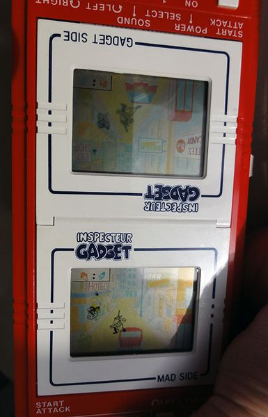 INSPECTEUR GADGET GAME&WATCH BANDAI 2