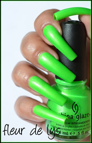 China Glaze Neon Summer collection