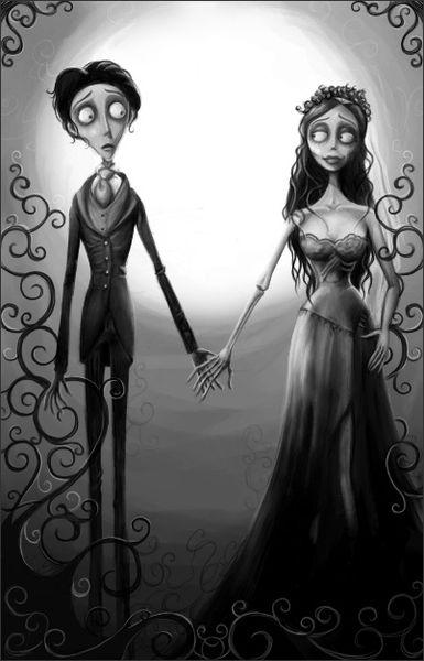 Corpse Bride Les noces funèbres Tim Burton