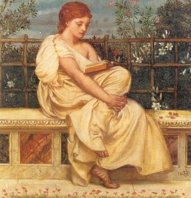 Edward John Poynter (British, 1836-1919,reading 1871