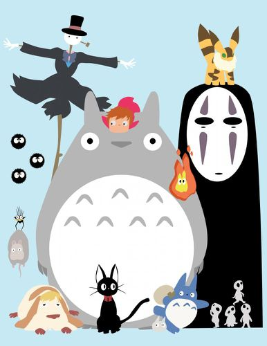 the ghibli gang by flamable77-d37auc6-772x1000