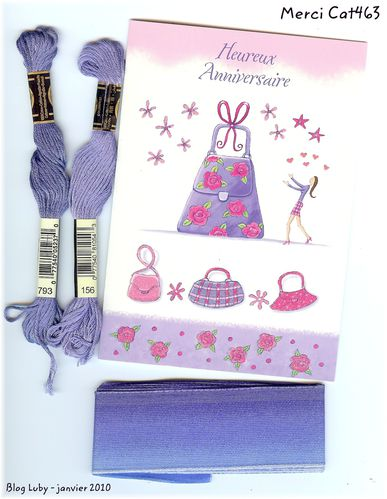 cat463 carte echevette galon