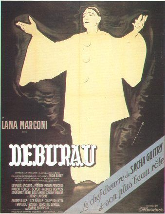 Affiche Deburau - Sacha Guitry film