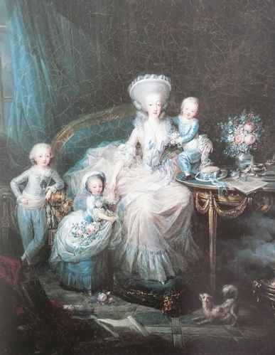 Charles Leclerc La comptesse d'Artois et ses enfants dernie