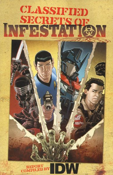 IDW Publishing - Classified Secrets Of Infestation (c2c)((I