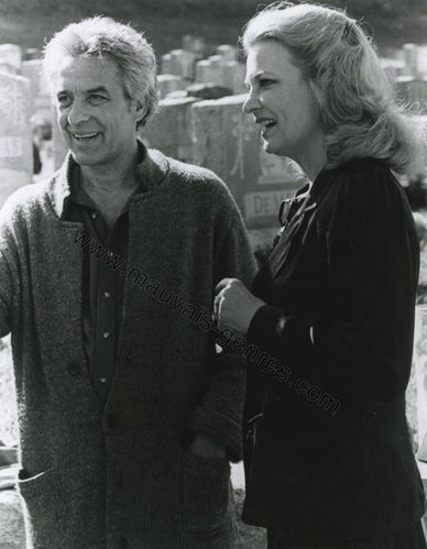 John Cassavetes &amp; Gena Rowlands - Gloria (Tournage)l