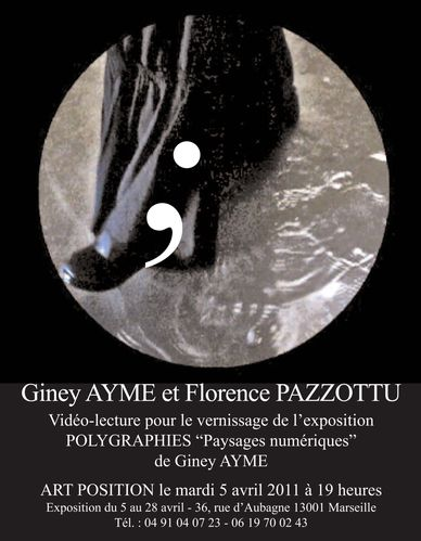 Giney AYMEPolygraphies 5 avril