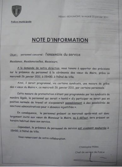 Note manif voeux personnel