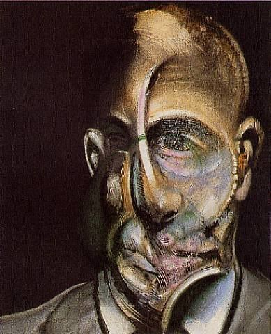 Portrait de Michel Leiris par Francis Bacon