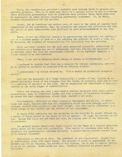 HISTOIRE 1064a robert munro knickerbocker hospital 1946
