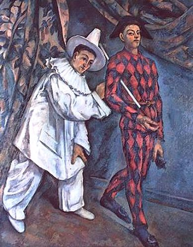 Paul-Cezanne-Pierrot-and-Harlequin--1888-160449