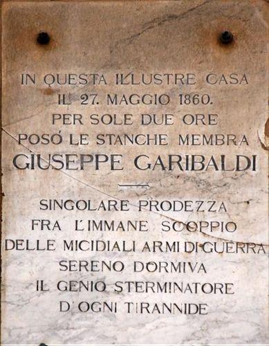 558g Palerme, repos Garibaldi