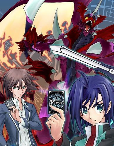 Cardfight!! Vanguard affiche