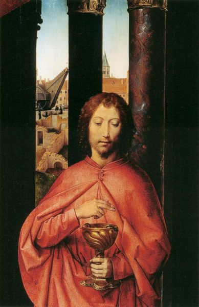 St John Altarpiece detail 111