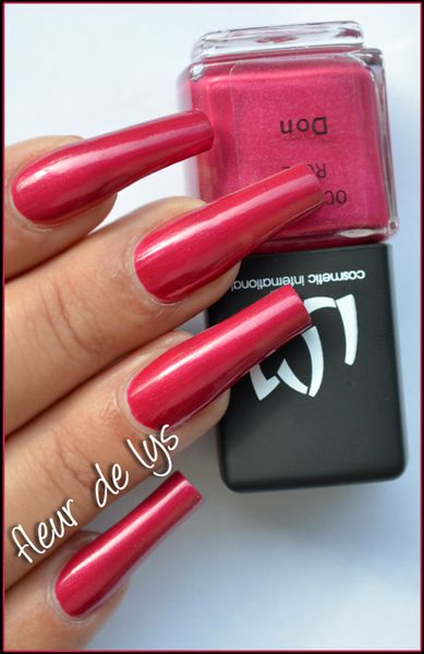 Vernis ongles rose
