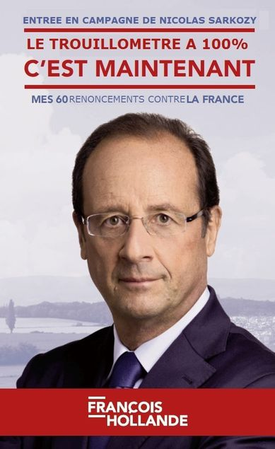 Trouillometre a 100%francois Hollande