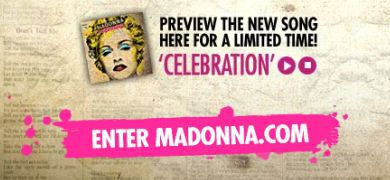 Madonna - ''Celebration'' single: Preview the whole song