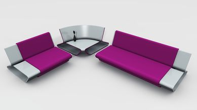 sofa slim'y design