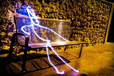 Light-painting 9476