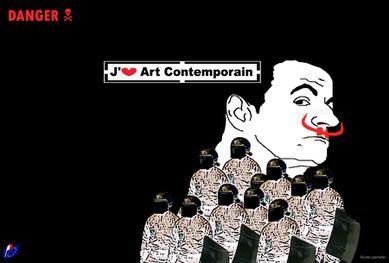 j'aime l art contemporain