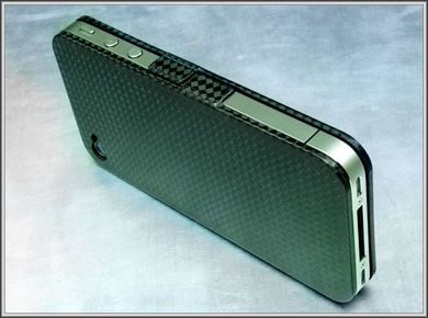 iphone 4 carbone design