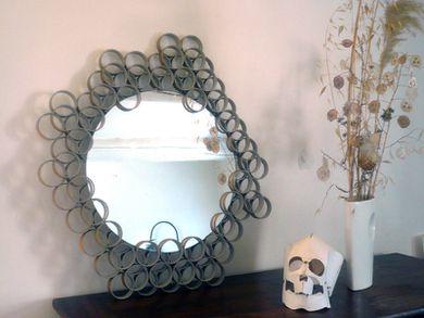 miroir carton tube