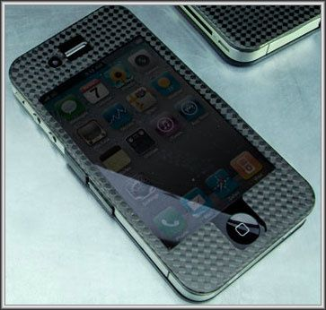 coque iphone 4 carbone design
