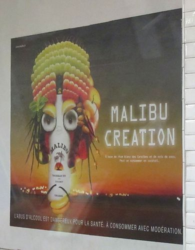 Caribbean creation Malibu affiche 4-copie-1