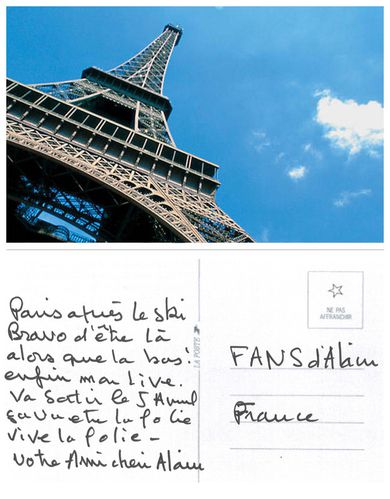 cartepostale paris