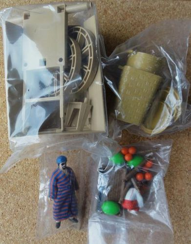 INDIANA JONES PLAYSET KENNER STREETS OF CAIRO SEALED