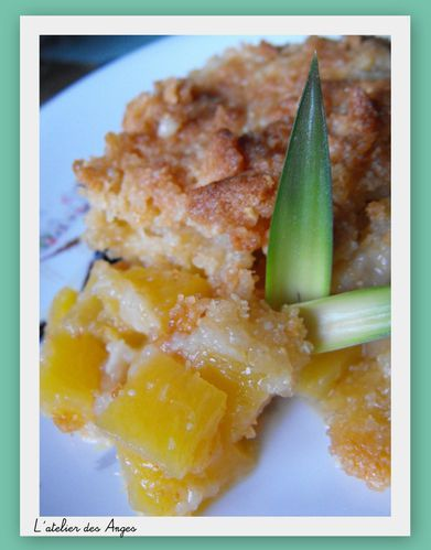 Crumble ananas-crumble 1