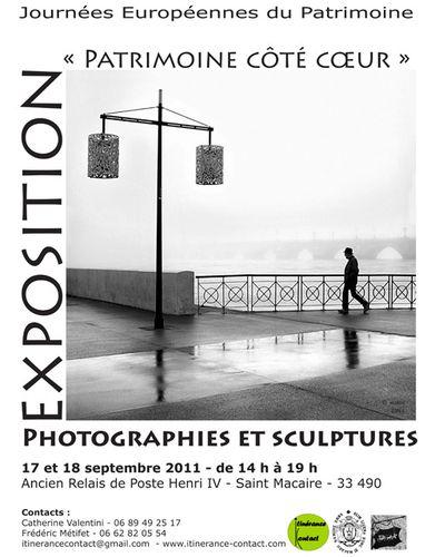 affiche 1 expo st macaire sept 2011 -copie