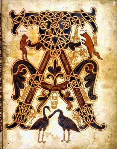 alpha et omega Béatus de Saint Sever Landes