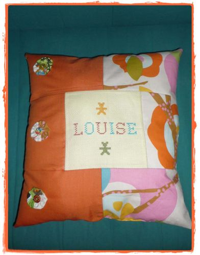 Louise coussin recto