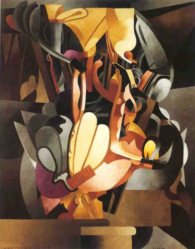 Picabia I see again in memory my dear Udnie 1914
