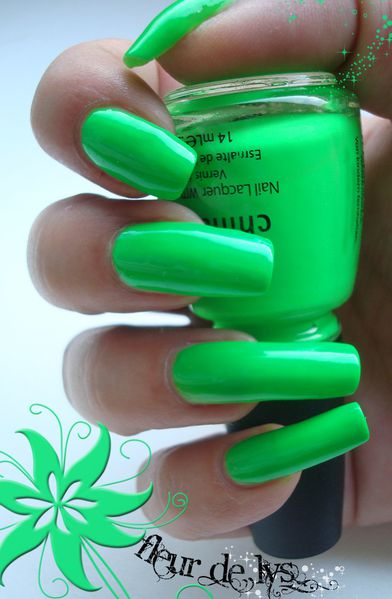 Vernis vert kiwi ( NEON)
