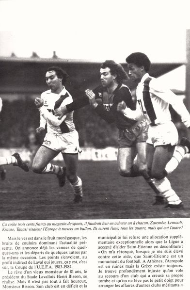 Article n 2 l-ann-e du football 1983