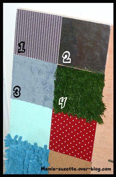 sensory board texture 2
