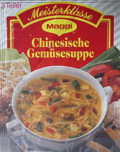 Maggi, Sachet, Soupe Chinoise, Allemagne, 1998