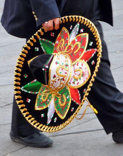 Mexixo chapeau Mariachi (2)