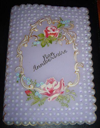 Bon anniversaire Vintage roses