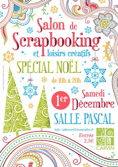 affiche salon Carvin '12