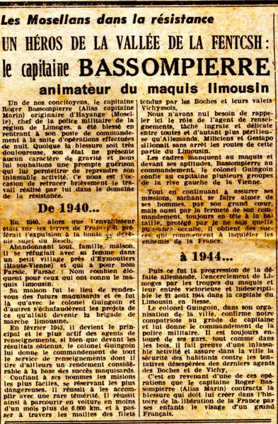 article 17 mars 1945