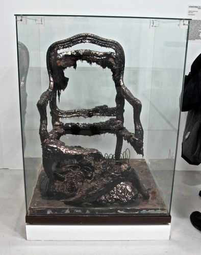 Arman archologie du futur fauteuil