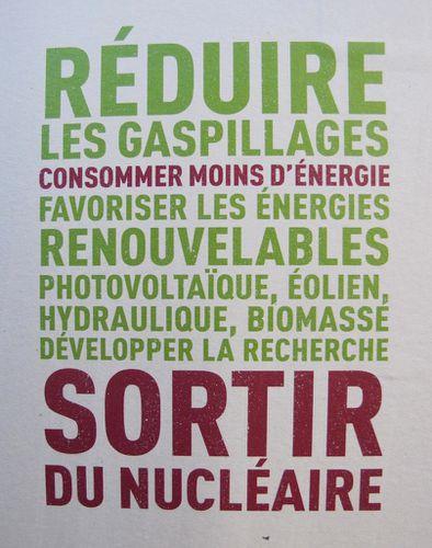 affiche Présidentielle 2012 Eva Joly nucléaire 0