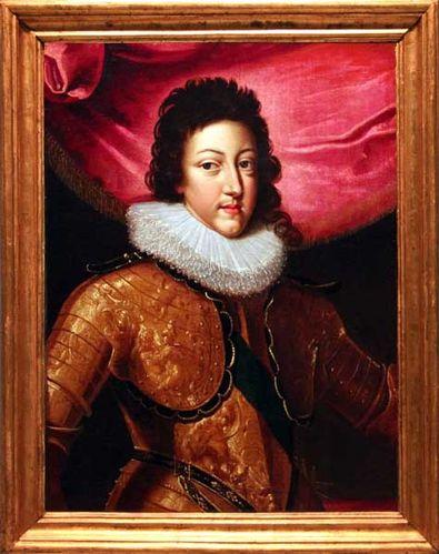 876f4 Louis XIII en 1618