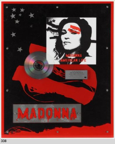 More on 'Music Icons' auctions with Madonna